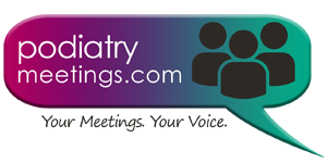 PodiatryMeetings.com Logo