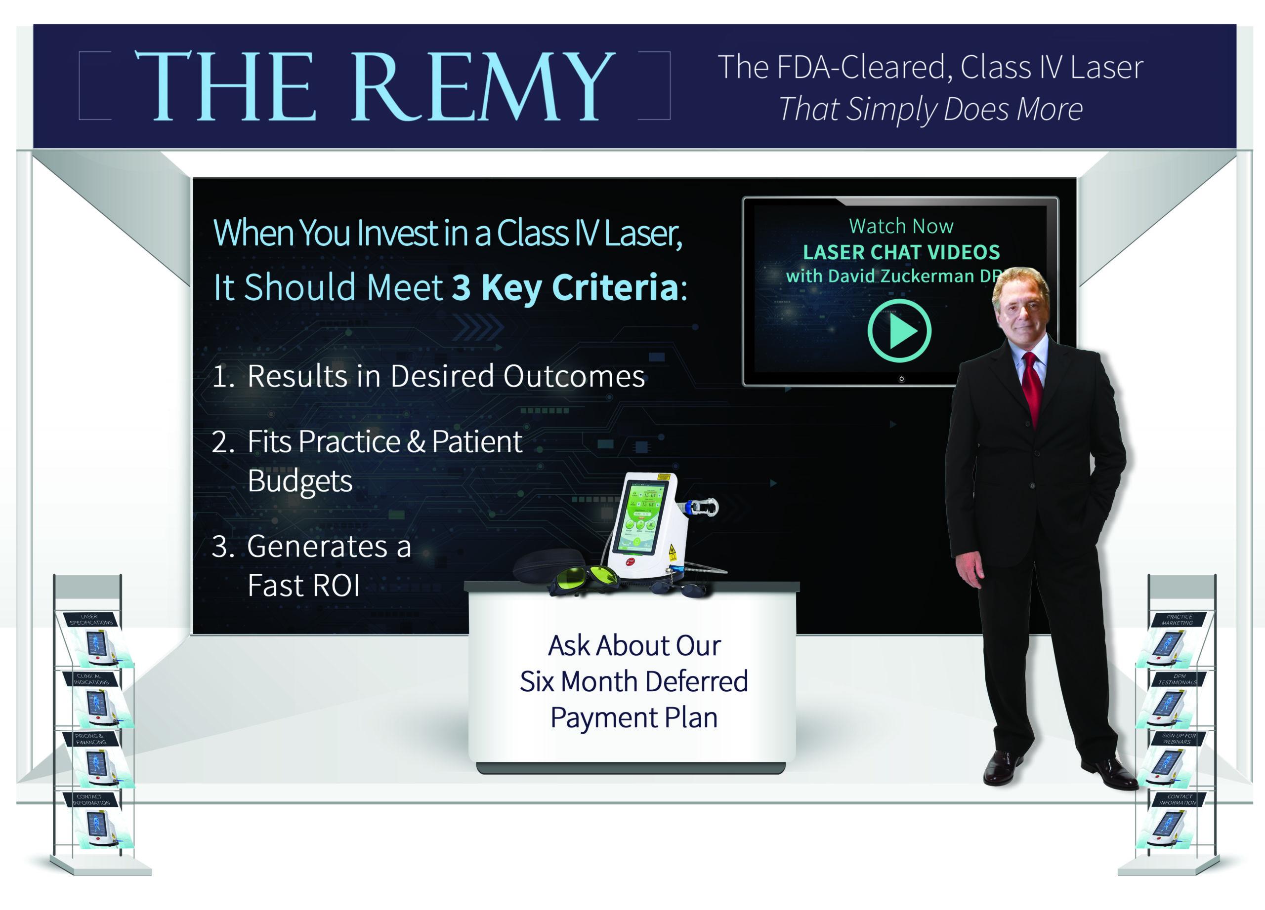 REMY CLASS IV LASER
